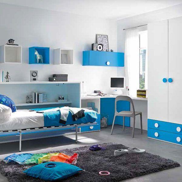 Habitaci n juvenil cama abatible zas5000507053 zasmobel - Habitacion juvenil cama abatible ...