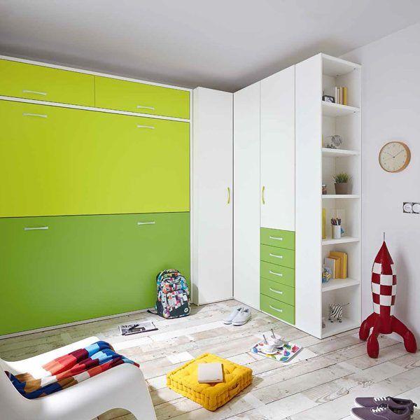 Habitaci n juvenil cama abatible zas5000507056 zasmobel - Habitacion juvenil cama abatible ...