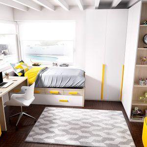 cama compacto juvenil