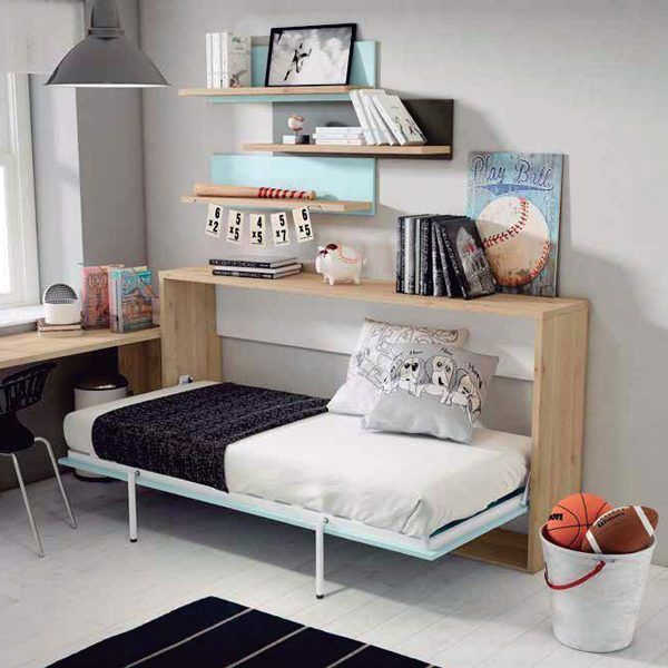 Habitaci n juvenil cama abatible zas5000533001 zasmobel - Habitacion juvenil cama abatible ...