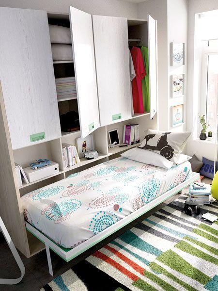 Habitaci n juvenil cama abatible zas5000130156 zasmobel - Habitacion juvenil cama abatible ...
