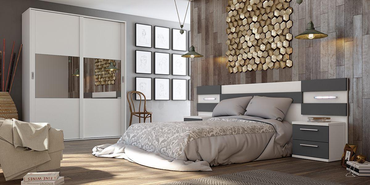 Habitaci n de matrimonio zas4000503215 zasmobel for Ver dormitorios modernos