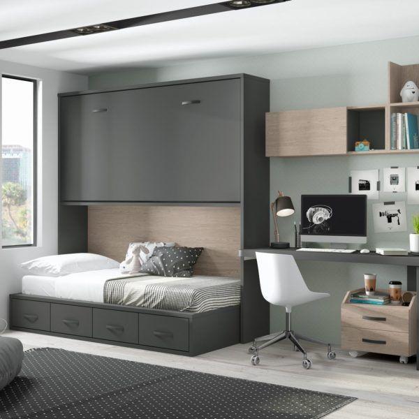 Habitaci n juvenil cama abatible zas5000100209 zasmobel - Habitacion juvenil cama abatible ...