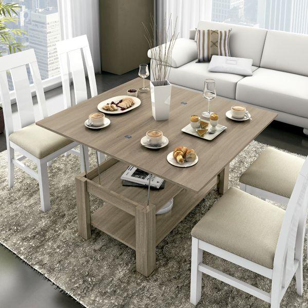 Mesa centro convertible a mesa de comedor zas1008522005 - Zasmobel