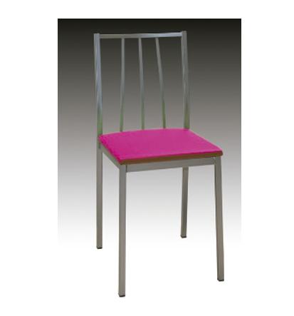 silla respaldo barras