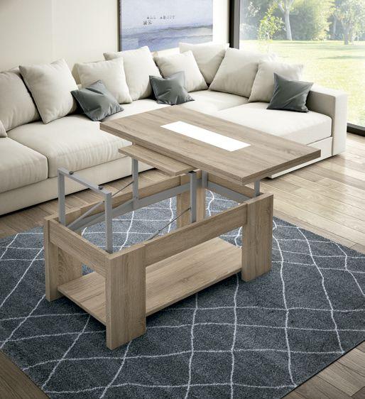 Mesa centro convertible a mesa de comedor zas1008307034