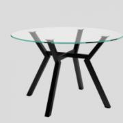 mesa alboran redonda de 120 cms